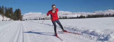 Brian skiing Mazama