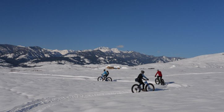 Fatbiking in the Methow Valley