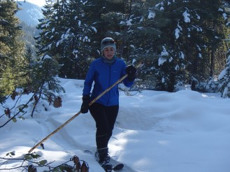 Hok Skiing in the North Cascades