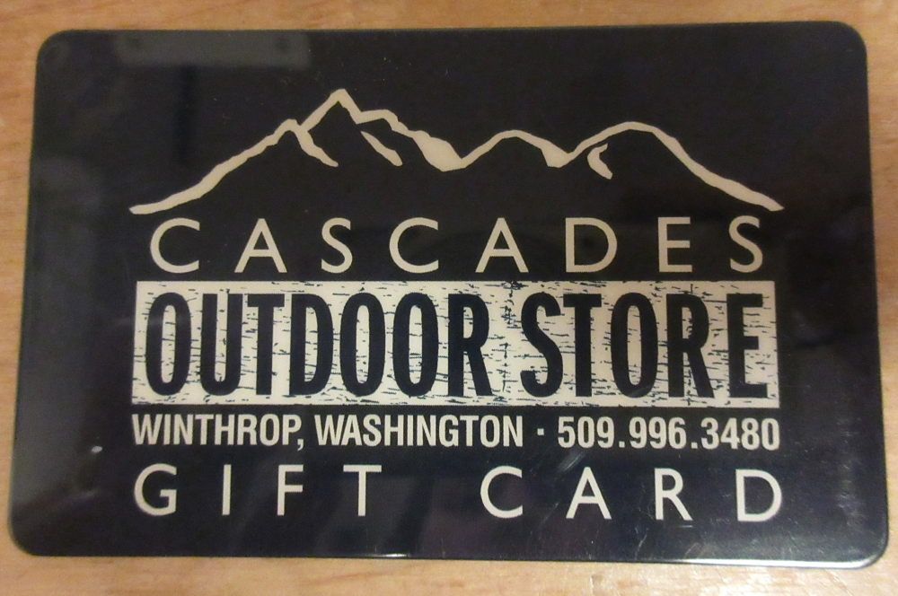 Cascades Outdoor Store Gift Card